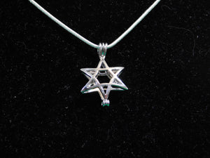 SO Pendant - Pearl Cage - Star of David