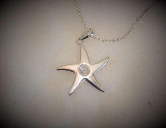 Pendant - Pearl Mount - Star Mount