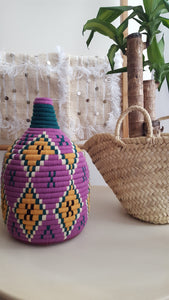 woven boxes handame in morocco by atlas berber tribe