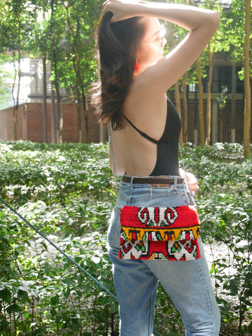 Rug Crossbody bag & Clutch | Coachella