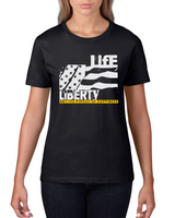 Life, Liberty And Pursuit Of Happiness - Women's short sleeve t-shirt