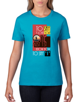To say I love you - Women's short sleeve t-shirt