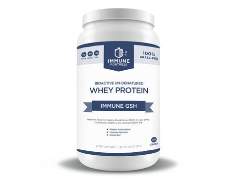 Bioactive Un-denatured Whey Protein - 100% Grass Fed Protein