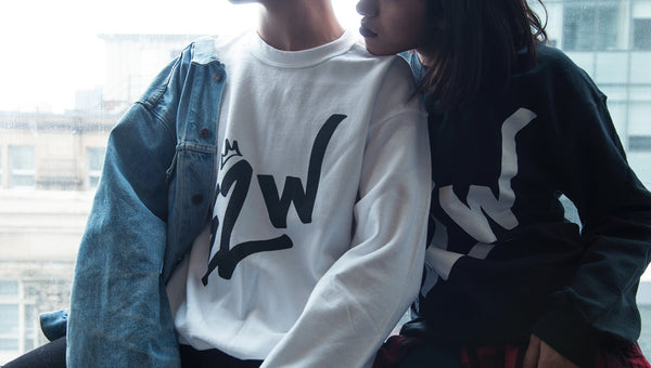 E2W Graffiti Crewneck Sweatshirt