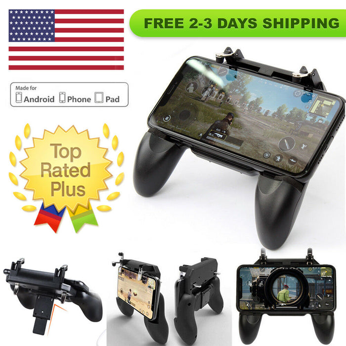 half off 80b7c 64c7f W10 Mobile Gamepad Controller For PUBG, Fortnite | Android and iPhone