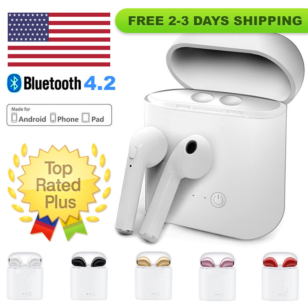 Bluetooth Wireless Earbuds With Microphone | AirPod Alternative