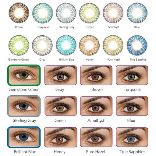 Eye Lenses Vibrant Color Contacts Cosmetic Makeup Eye Lens -Last one year