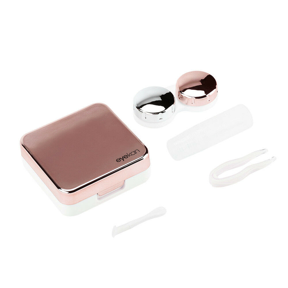 Mini Travel Contact Lense Case With Mirror