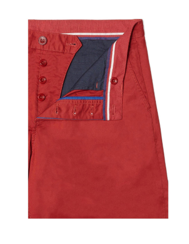 Classic Twill Shorts Red