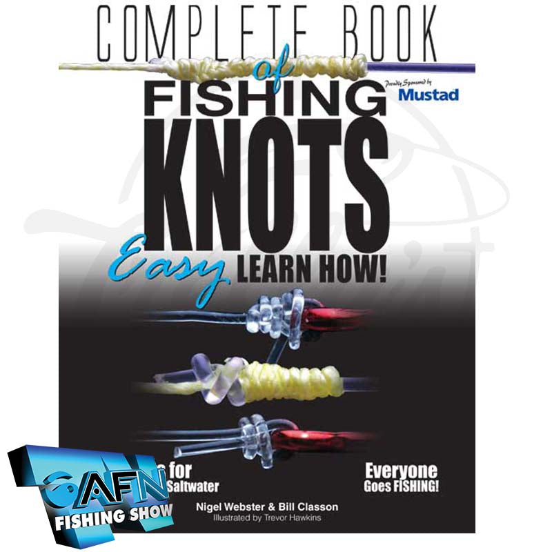 AFN Complete Book Of Fishing Knots Easy Learn How!