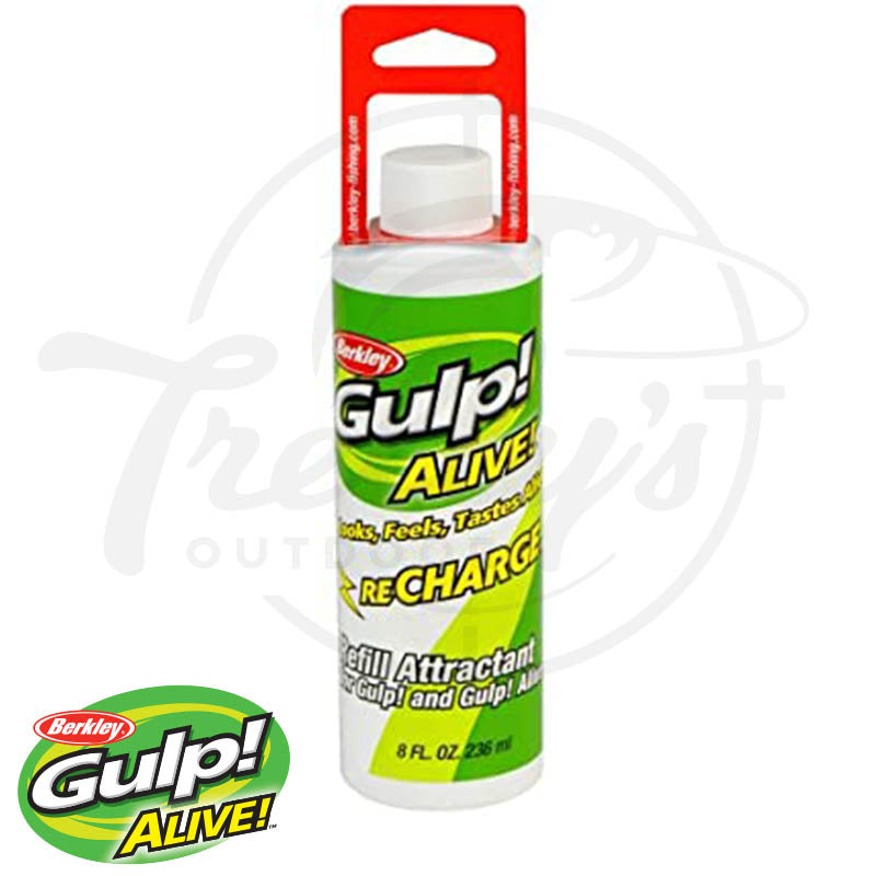 Berkley Gulp! Alive! Recharge Liquid Fish Attracrants
