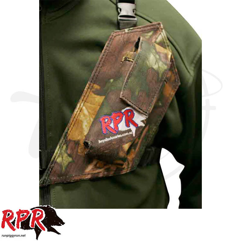 RPR GPS/UHF Holster Camo Single