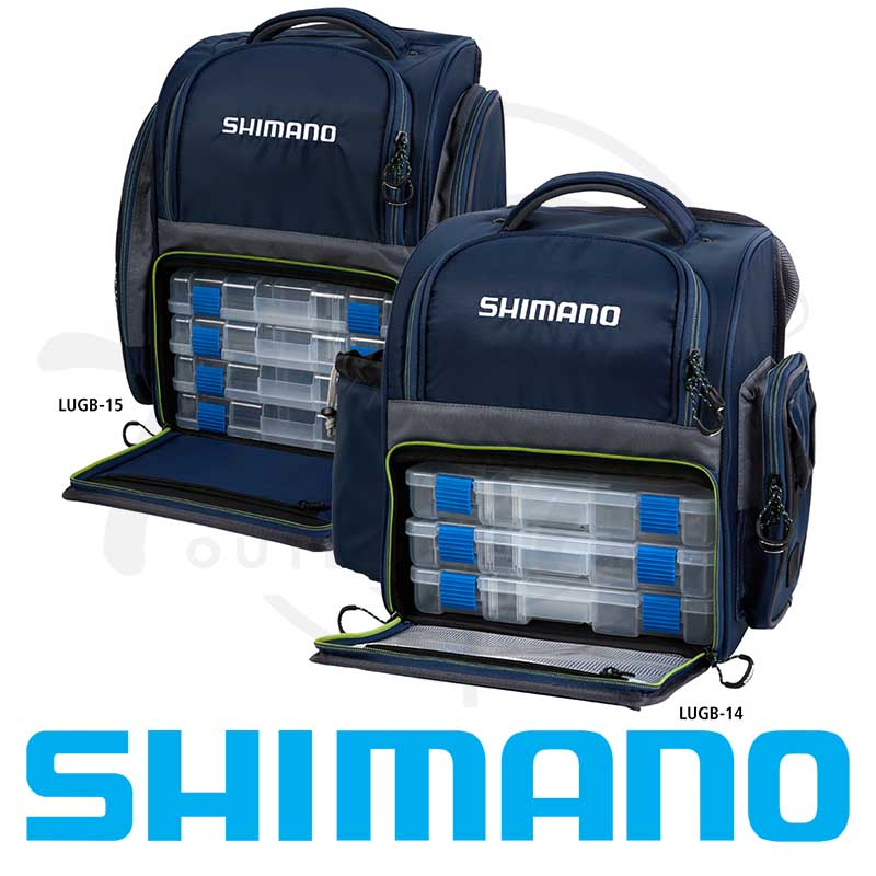 Shimano Backpack & Tackle Box