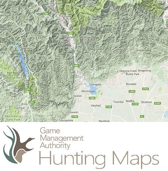 Deer Hunting Maps - Victoria