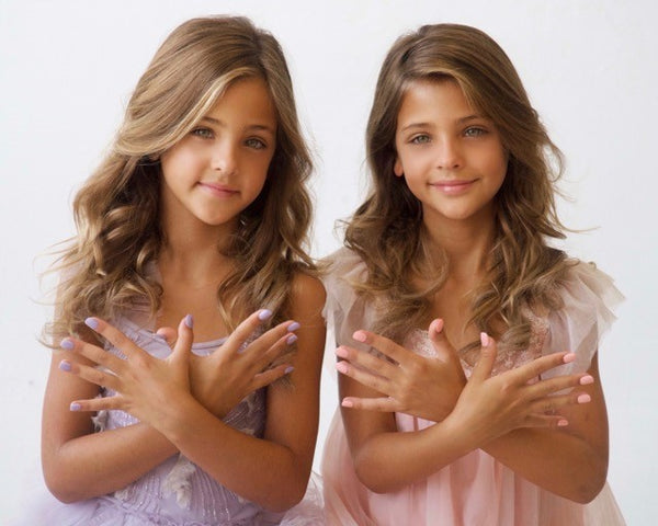 Hope | Courage | Nail Polish  |  8 Free | Vegan | Clements Twins | Ava Marie | Leah Rose | CURE SMA | SMA | Strong Like Shane