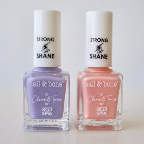 Courage | Nail Polish  |  8 Free | Vegan | Clements Twins | Ava Marie | Leah Rose | CURE SMA | SMA | Shane