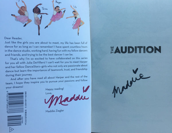 Registration Fee for Auction of the Book, Kenzie's RULES for LIFE (signed)