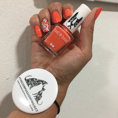 Oscar | Nail Polish | Orange |  8 Free | Vegan | Ali Levine | Influencer | Blogger | Fashion Expert | Bravo