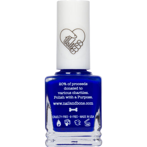 Tears in a Bottle | Nail Polish | Deep Blue | 8 Free | Vegan | Noah Cyrus  | GetUsPPE