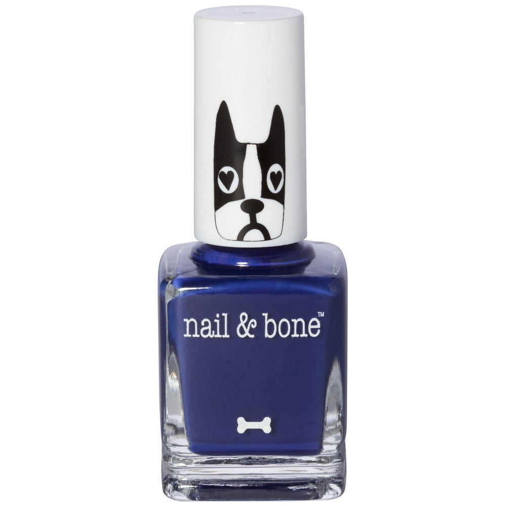 Baylor Nail Polish Midnight Navy Blue  8 Free  Vegan