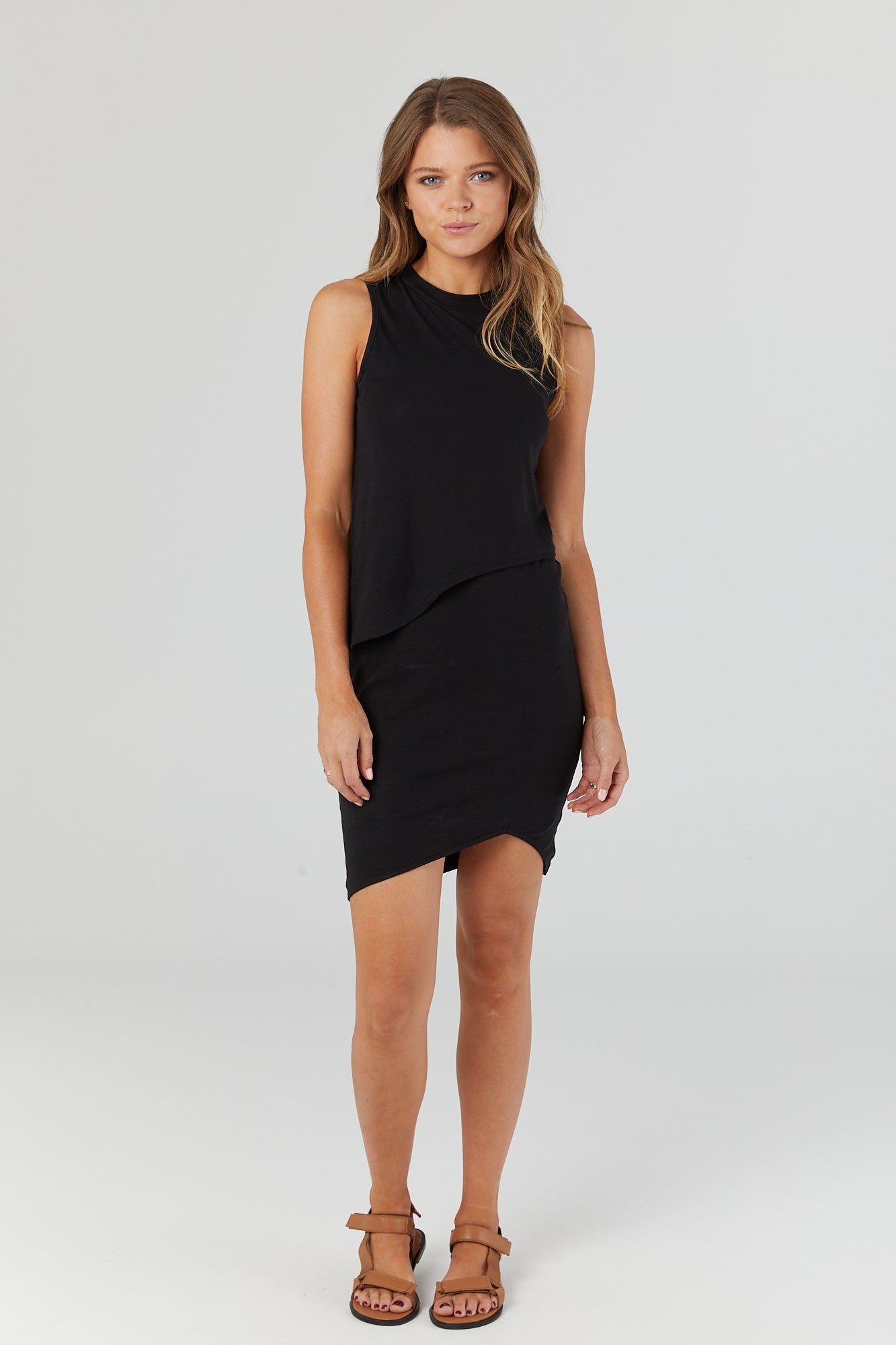 Bellevue Dress (Black) - LEGOE.
