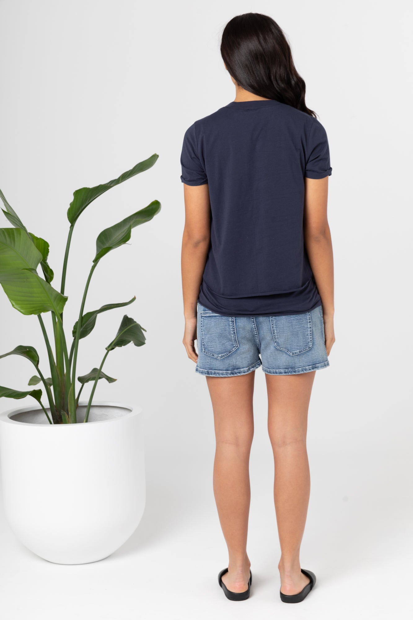 Denim Shorties (Blue Denim) - FINAL SALE - LEGOE.