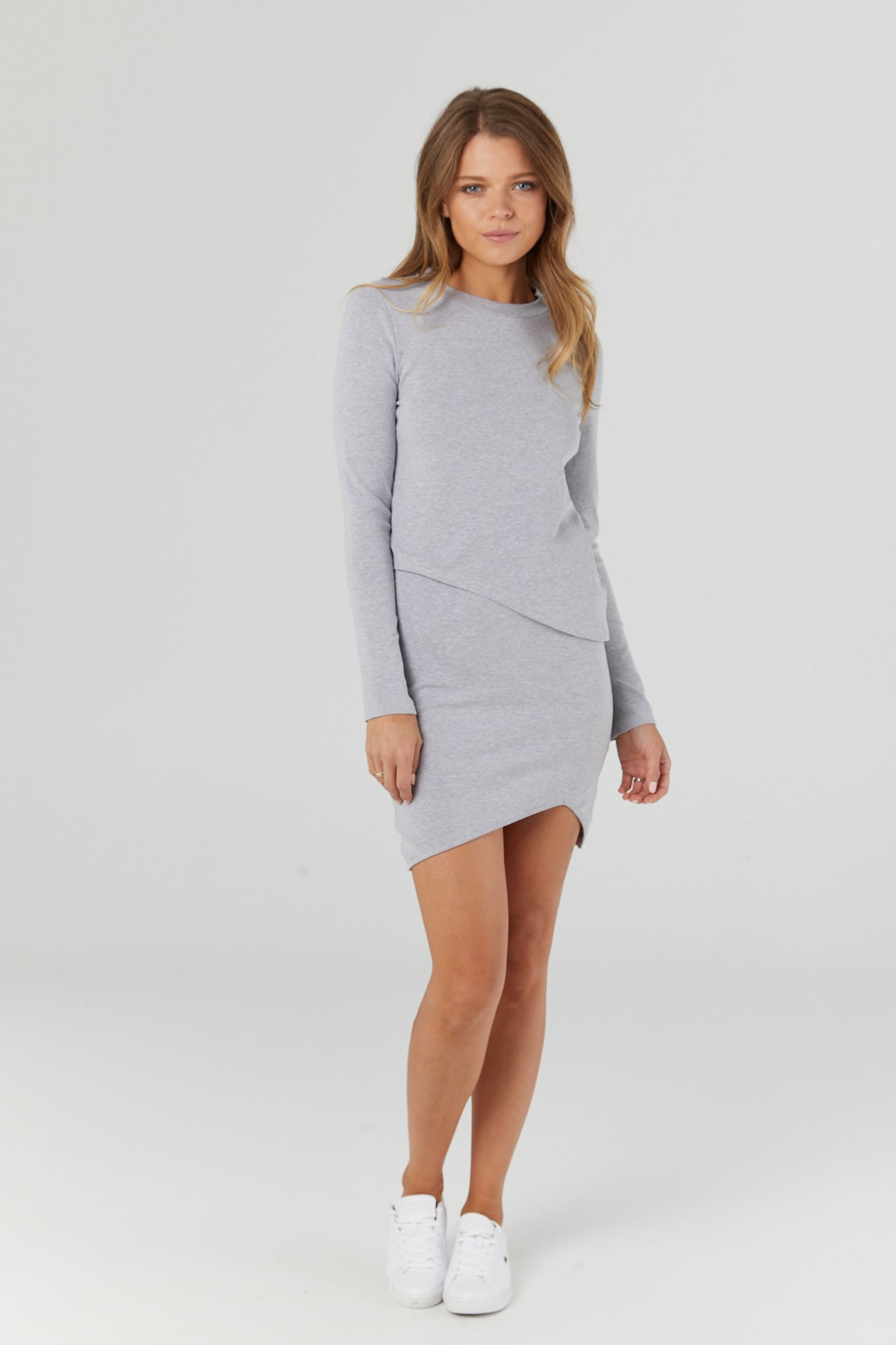 Forever Dress (Grey Marle) - LEGOE.