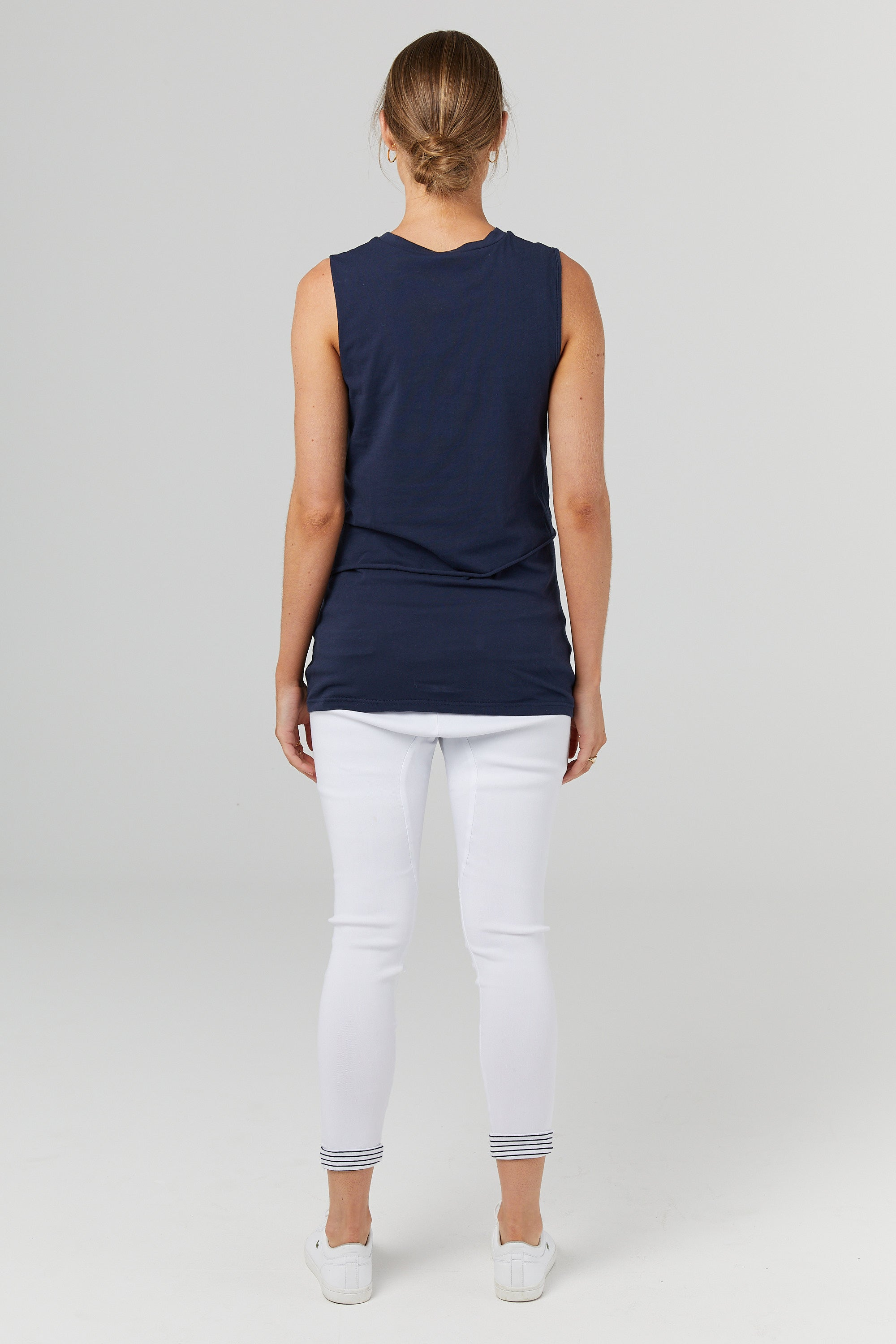 The Nursing Tank (Navy)