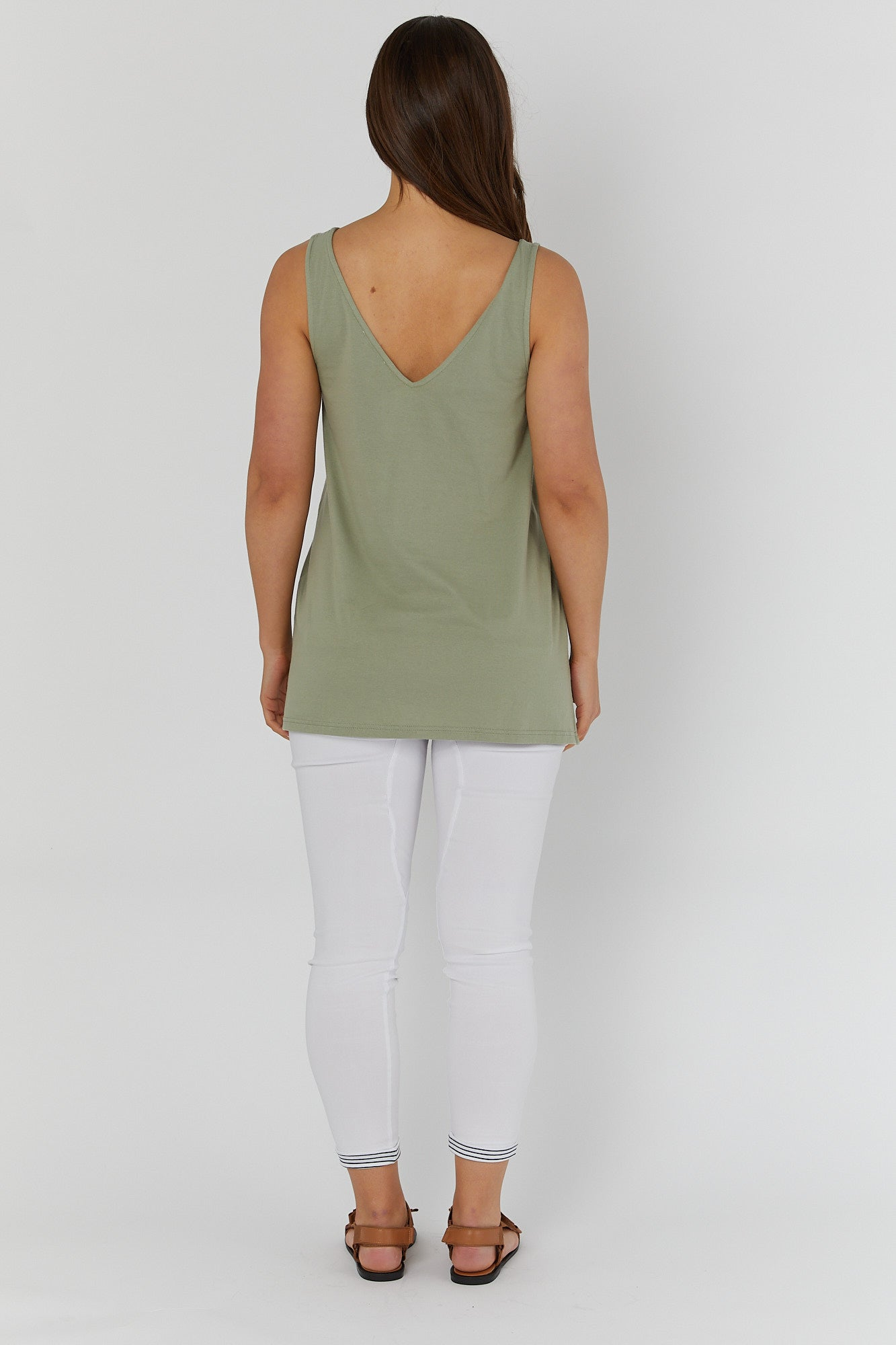 Louis Tank (Olive)