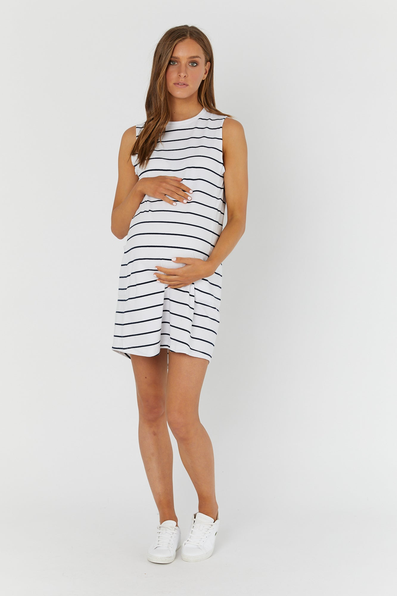 Panel Mini Dress II (Stripe)
