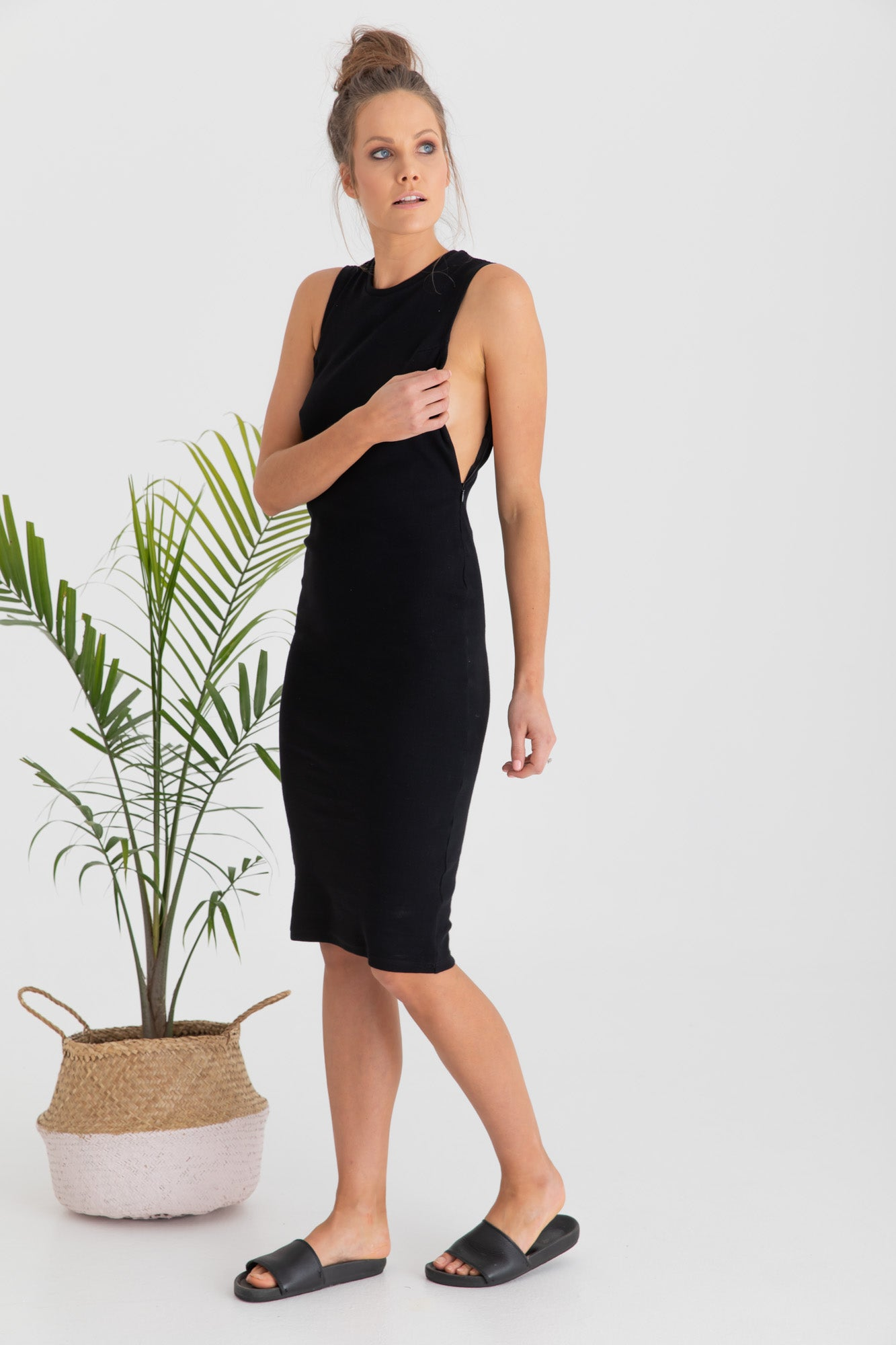 Maternity Dress Black Portugal