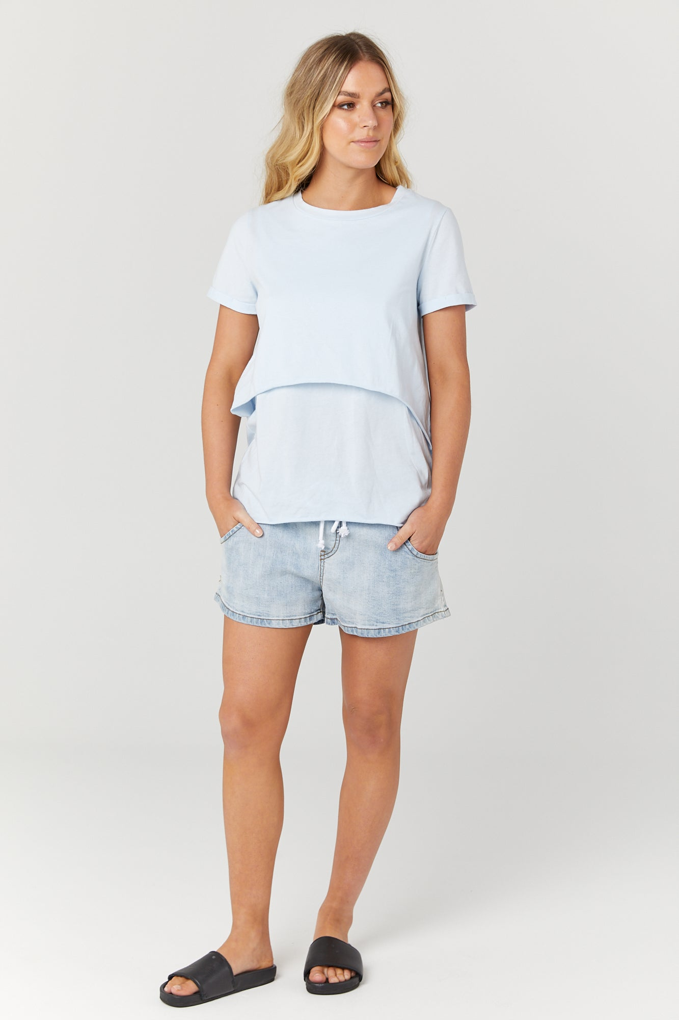 Valance Tee II (Powder)
