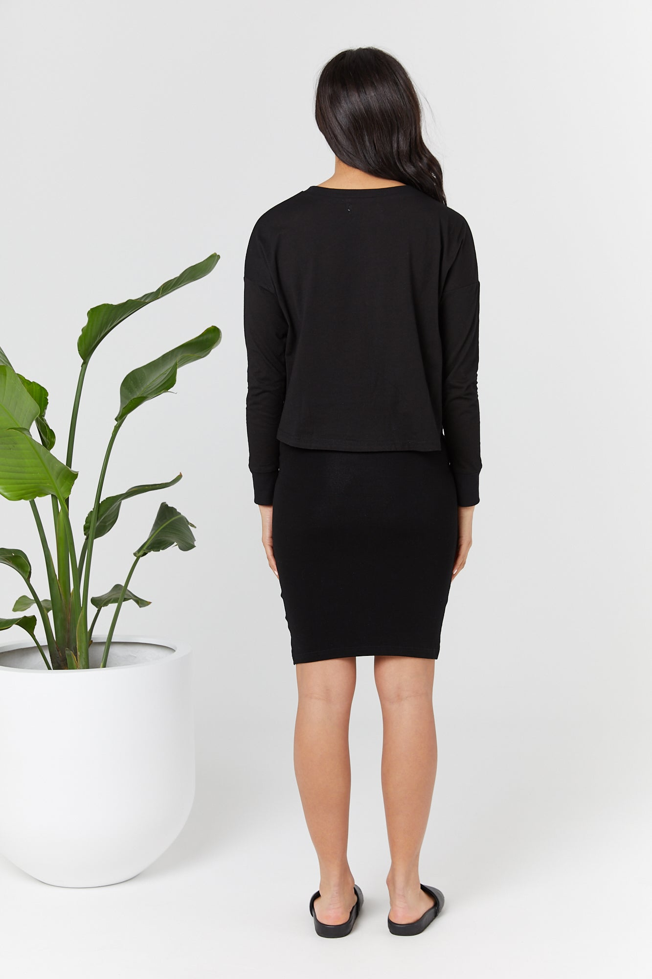 Bellevue Skirt (Black) - LEGOE.