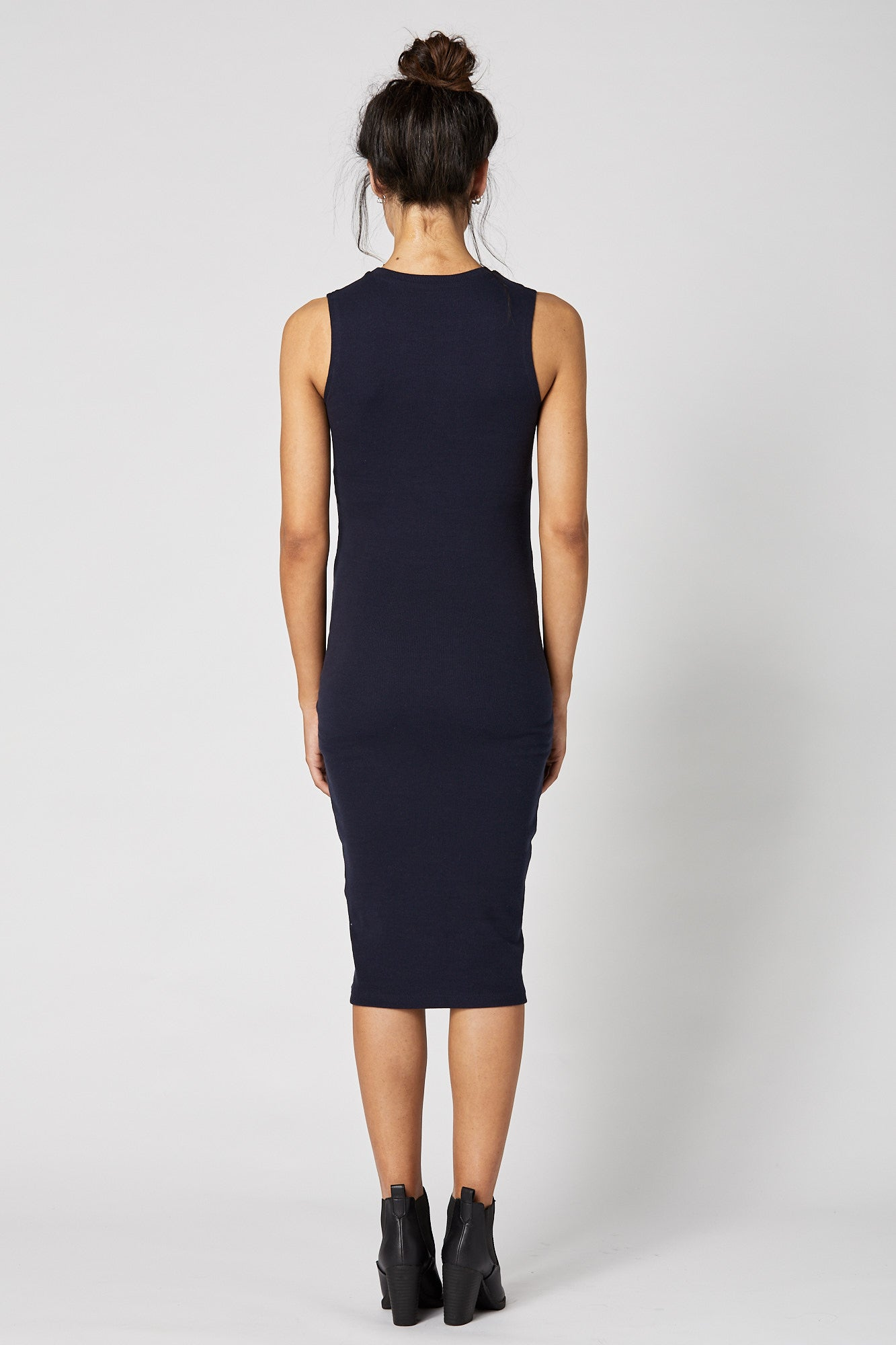 Portugal Dress (Navy) - FINAL SALE - LEGOE.
