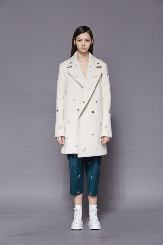 Alice Embroidered Coat