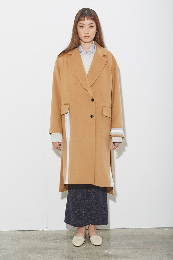 TAPE RIBBON COAT