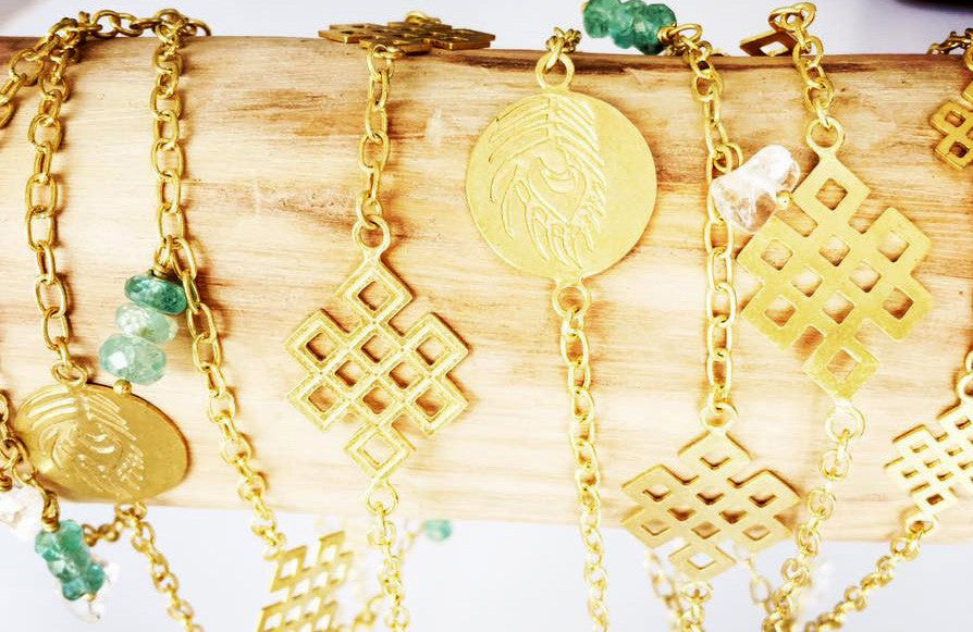 Made by hand, designed by heart- Resa living's Timeless Gold plated Jewelry pieces
