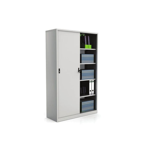 Fonzel.com - Sliding Door Cupboard - Metal Door - C CMS 200