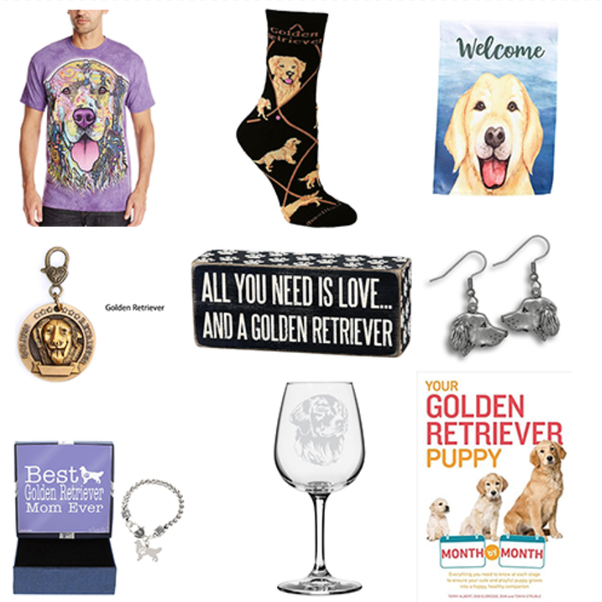 25 Cute Golden Retriever Gifts for Owners