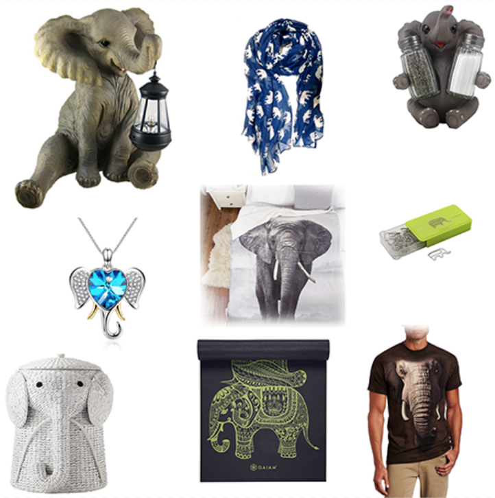 Elephant Gift Ideas for People Who Love Elephant Stuff