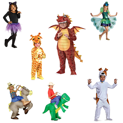 26 Animal Halloween Costumes for Kids