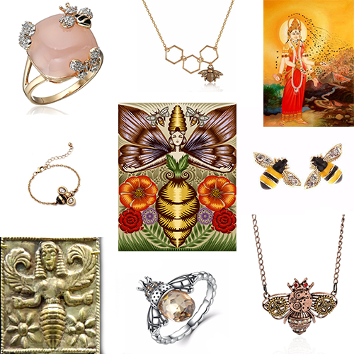 Bumble Bee Jewelry and Bee Goddesses