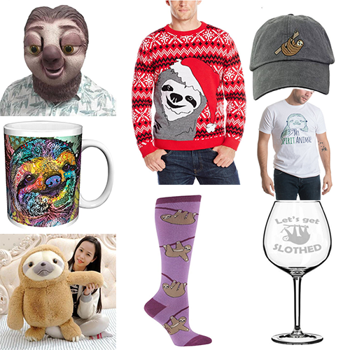 44 of the Best Sloth Merchandise That You Should Own