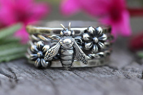 Bee Ring from Etsy