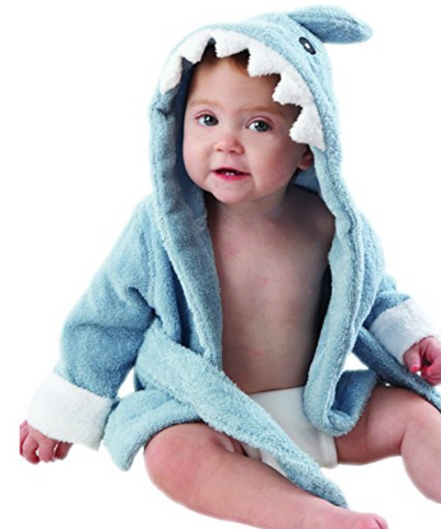 Shark Bathrobe for Babies