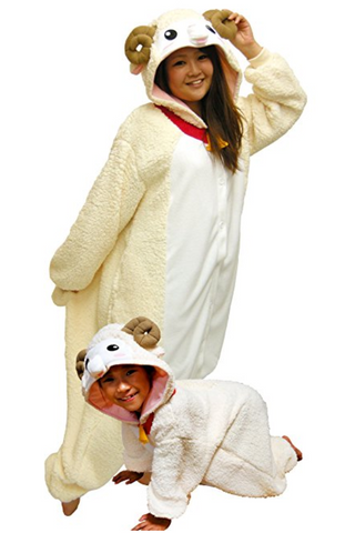 Sheep Onesie Adult and Kids
