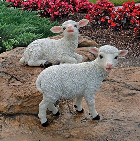 Sheep Garden Statues