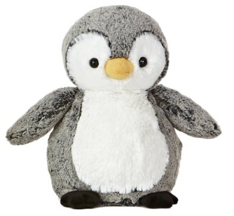 "Perky Stuffed Penguin 9.5"" Plush"