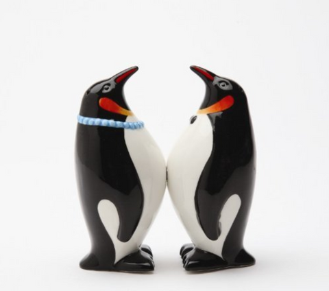 South Pole Penguins Salt & Pepper Shaker Set