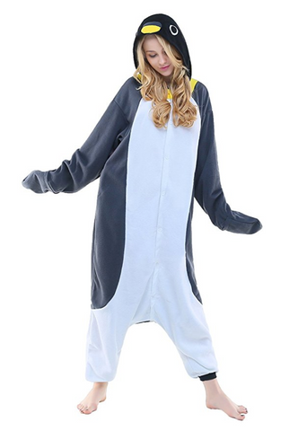 Penguin Costume Adult Pajamas